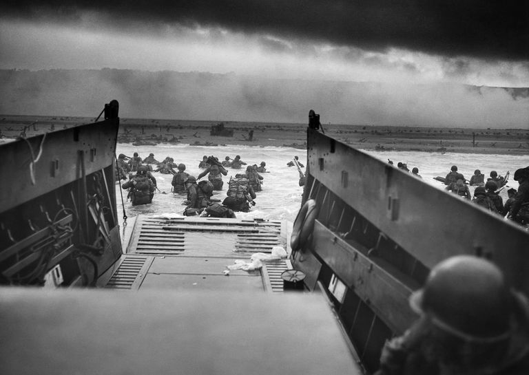 Omaha Beach, June 6, 1944. By Robert F. Sargent