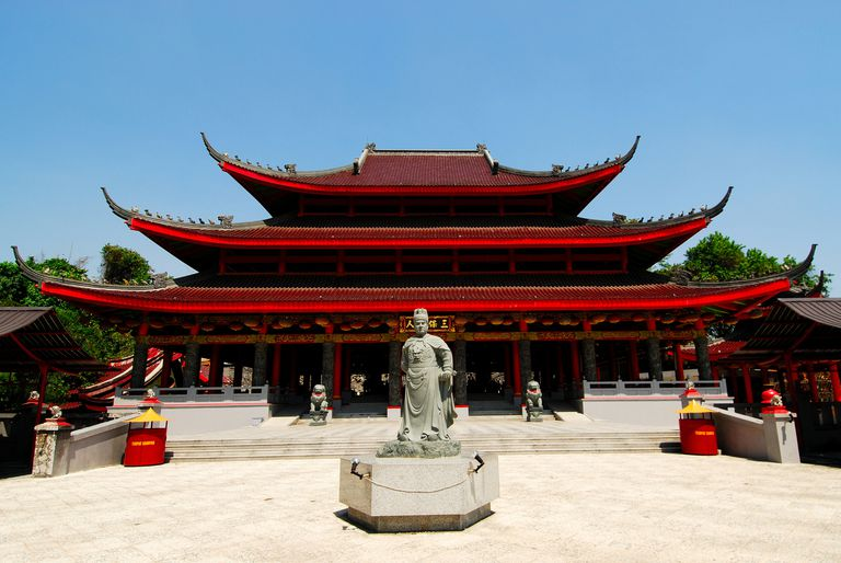 Sampo Kong Temple in Indonesia is dedicated to Zheng He