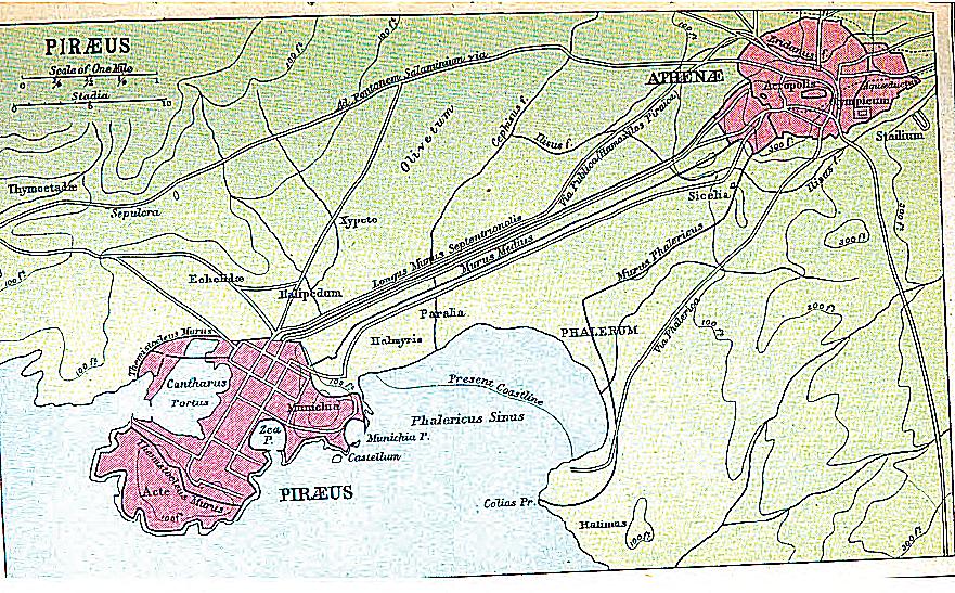 Long Walls and Piraeus