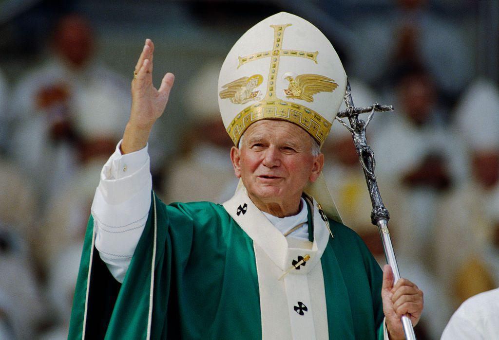 Pope John Paul II in Strasbourg