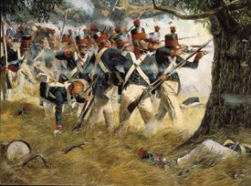 Battle of North Point during the War of 1812