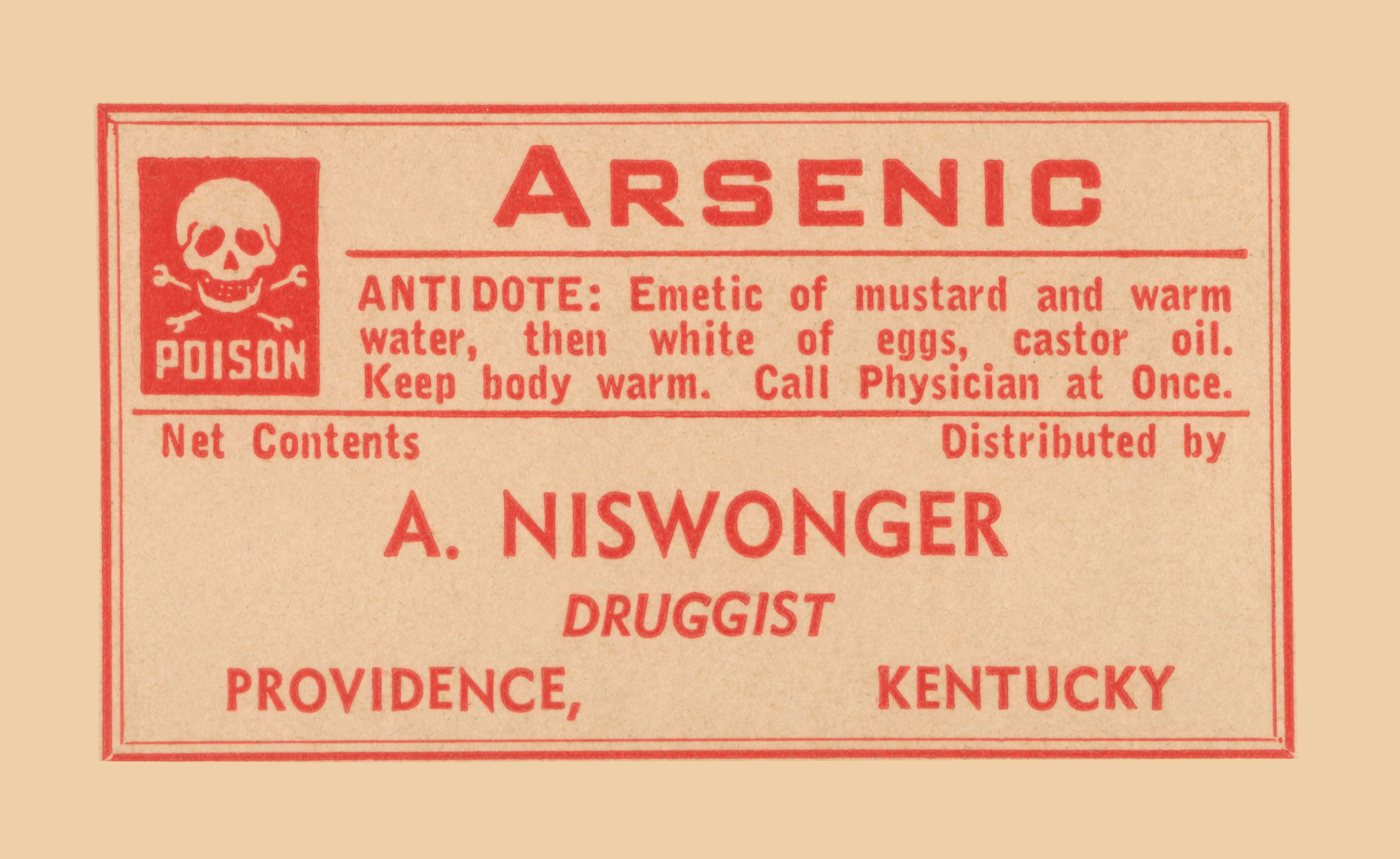 Arsenic may be the element best-known as a poison.