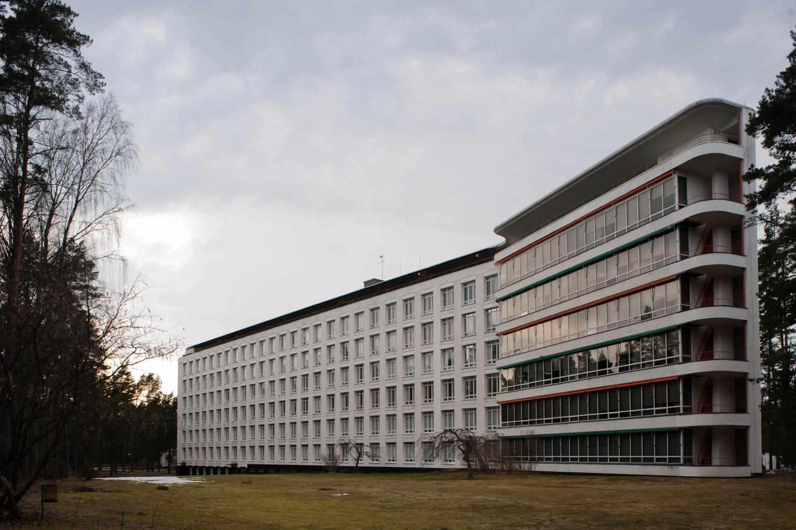 Paimio Tuberculosis Sanatorium, 1933