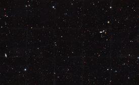 galaxy survey image.