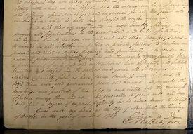 George Washington's original 1789 proclamation establishing the first Thanksgiving Day