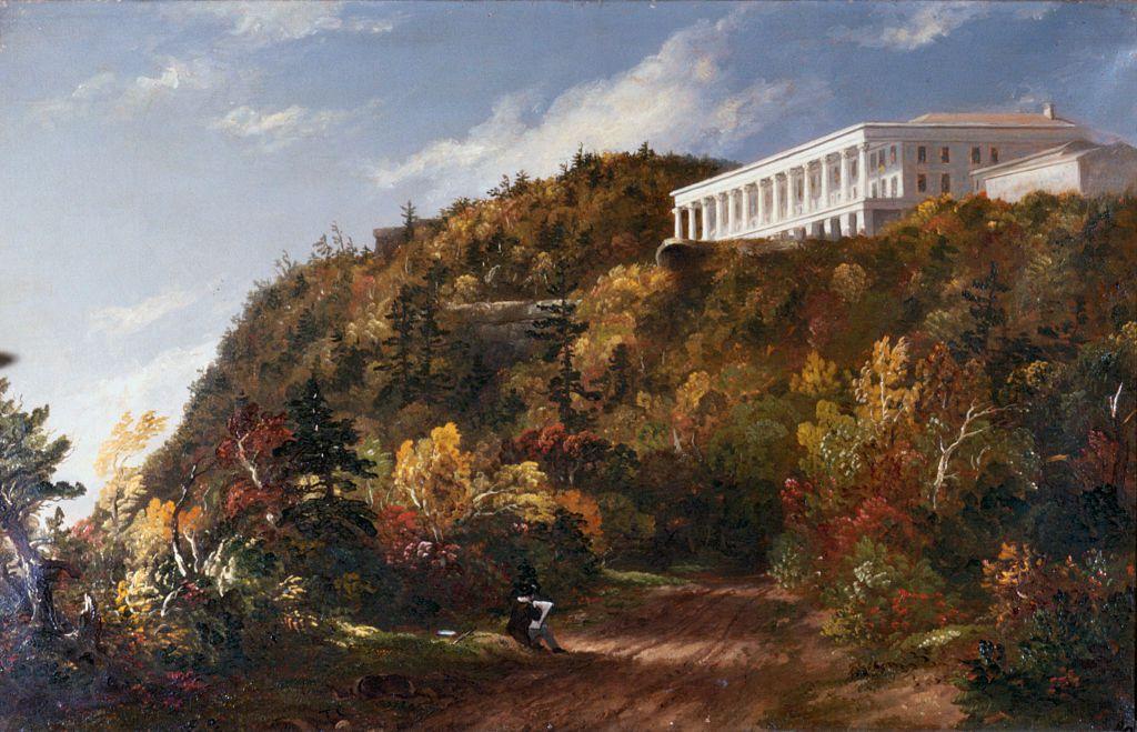 Catskill Mountain House by Thomas Cole