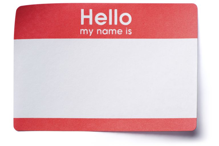 Definition and Examples of Names in English