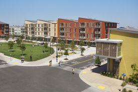 West Village, a Zero Net Energy community on the UC Davis campus