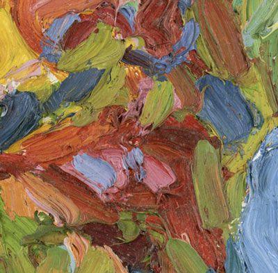 Expressionist painter Karl Schmidt-Rottluff