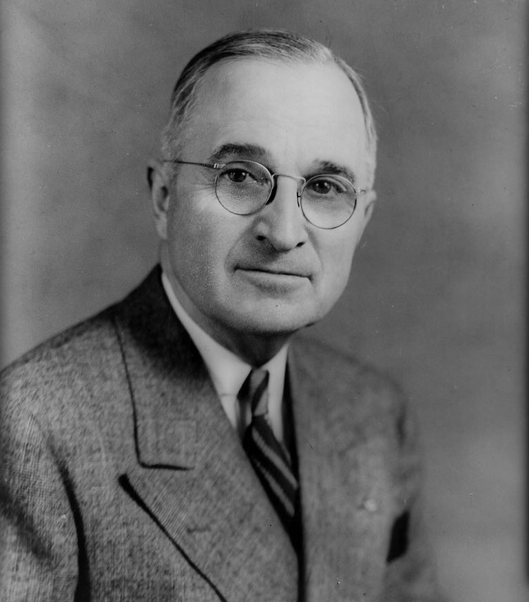 Harry S Truman, Thirty-Third President of the United States