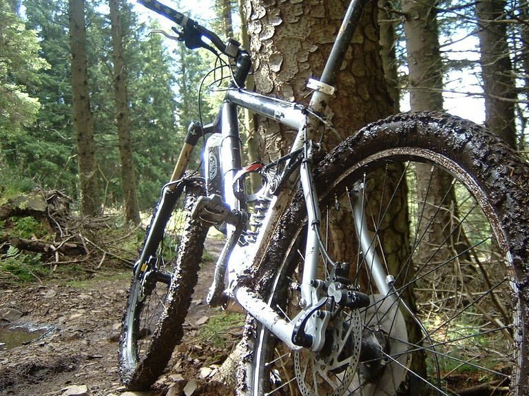 Clean your mountain bike.