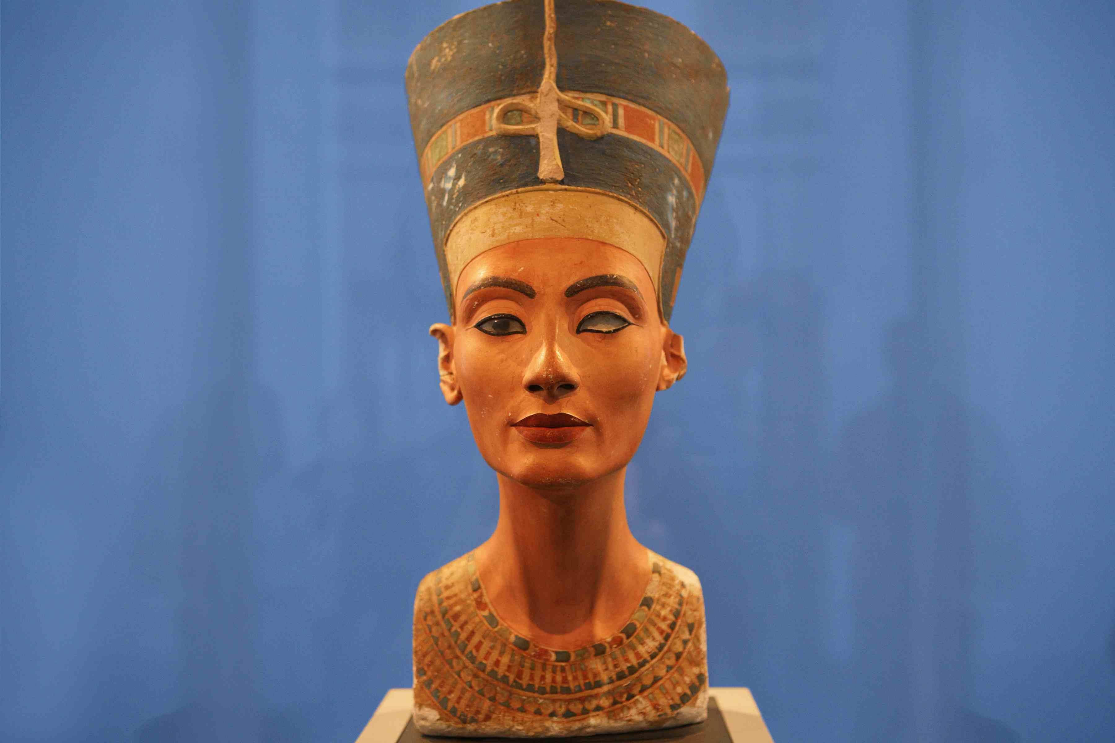 Nefertiti Bust in Berlin
