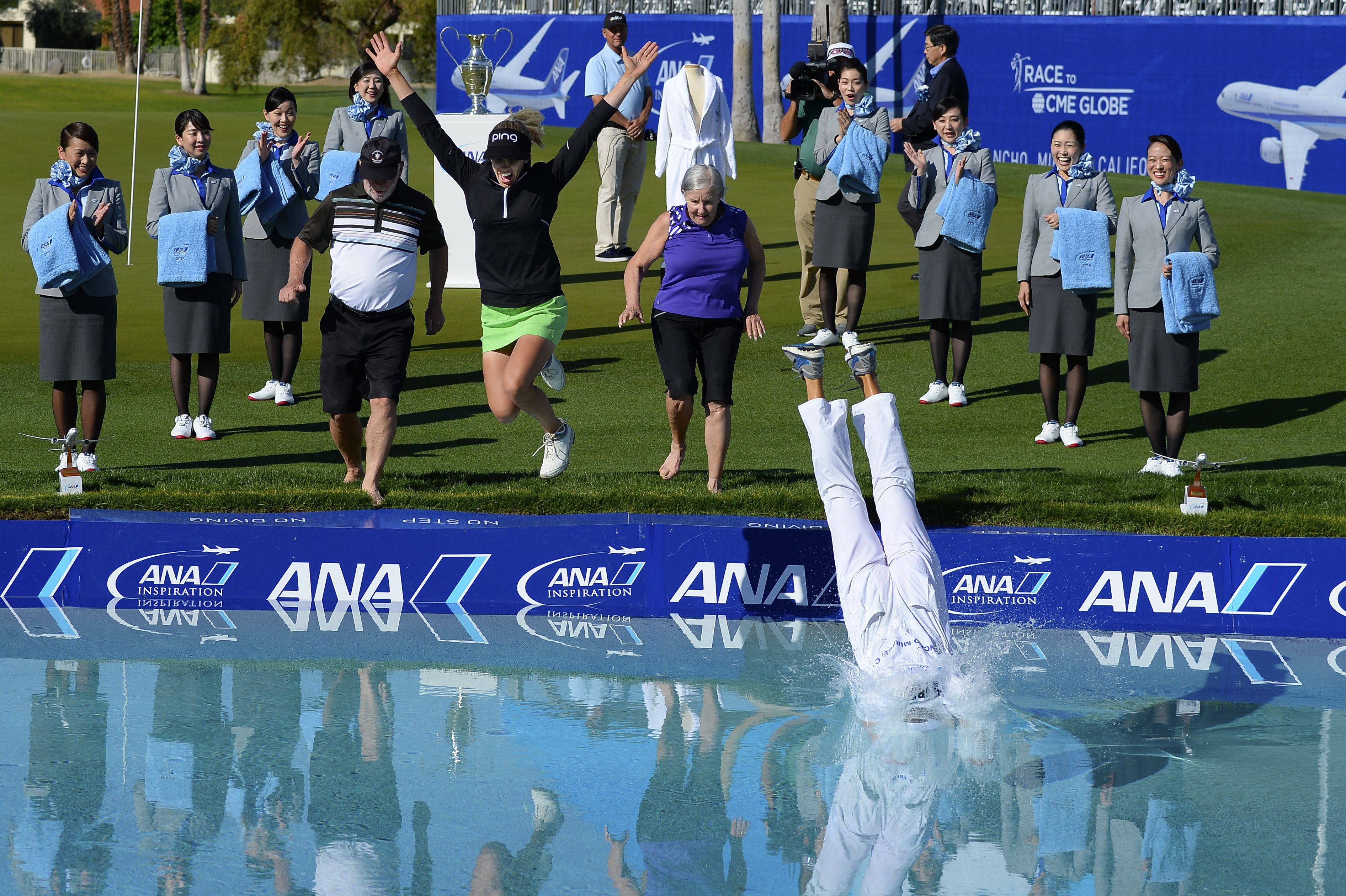 Image result for Pernilla lindberg jumps into poppy's pond