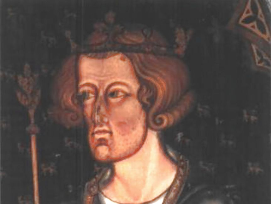 Portrait of Edward I