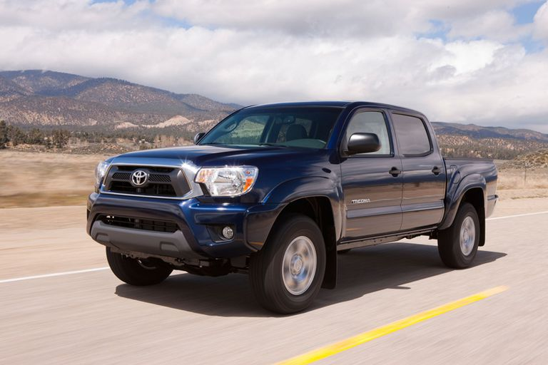 2012 Toyota Tacoma - Front & Side Photo