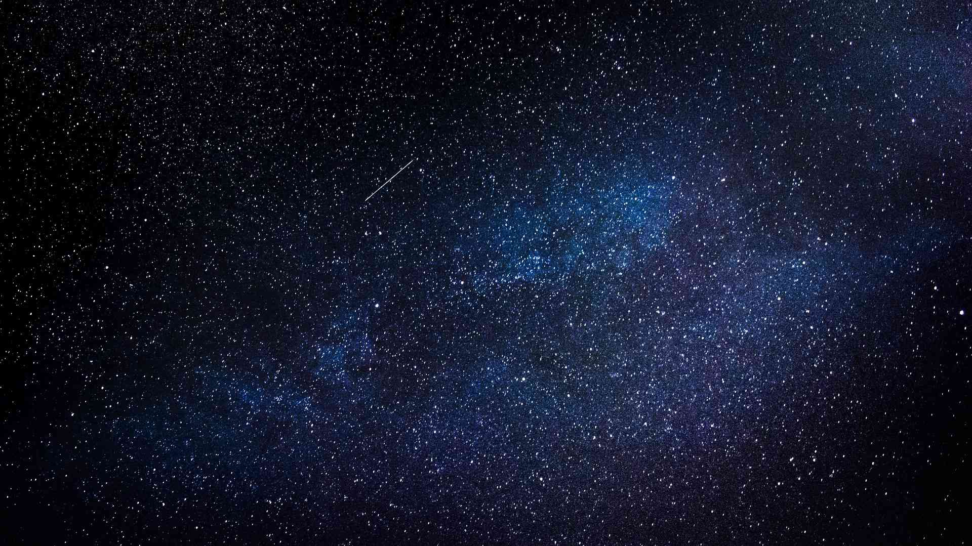 Picture of the night sky full of stars.