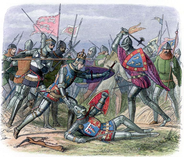 Duke of Alencon at Battle of Agincourt