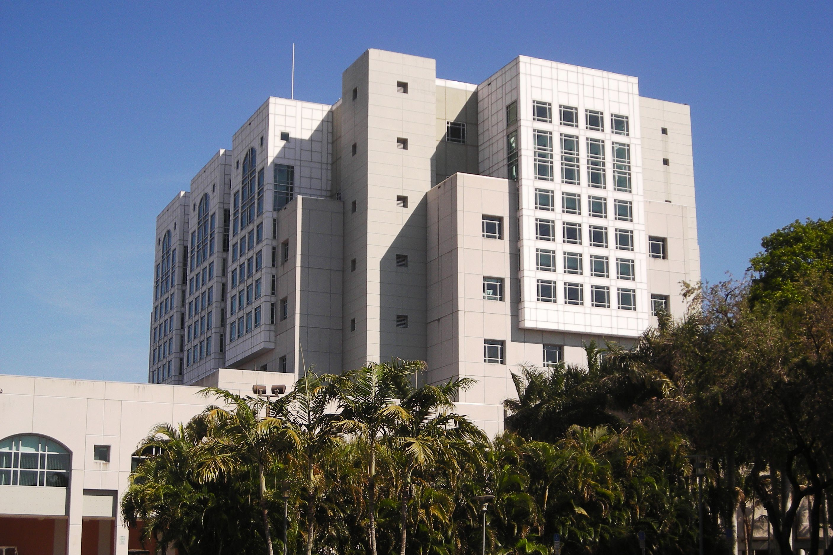 Biblioteca verde de la Universidad Internacional de Florida