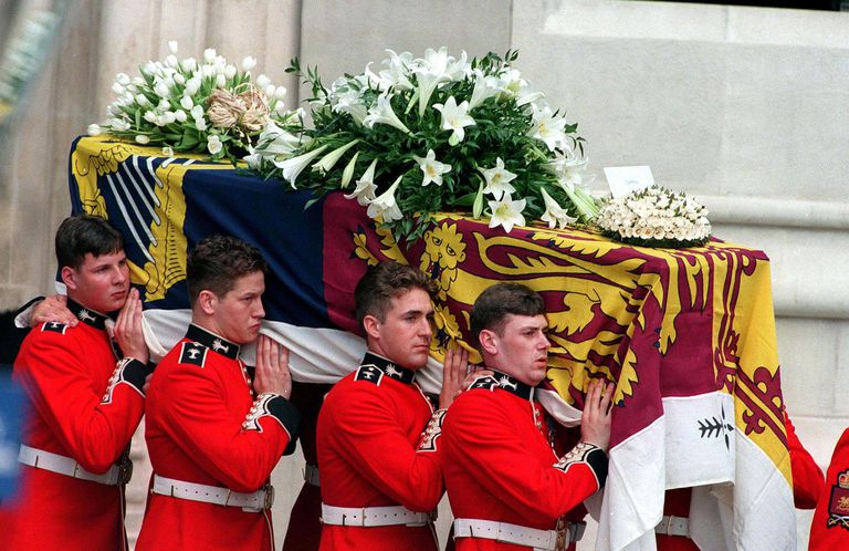 Princess Of Wales' Coffin