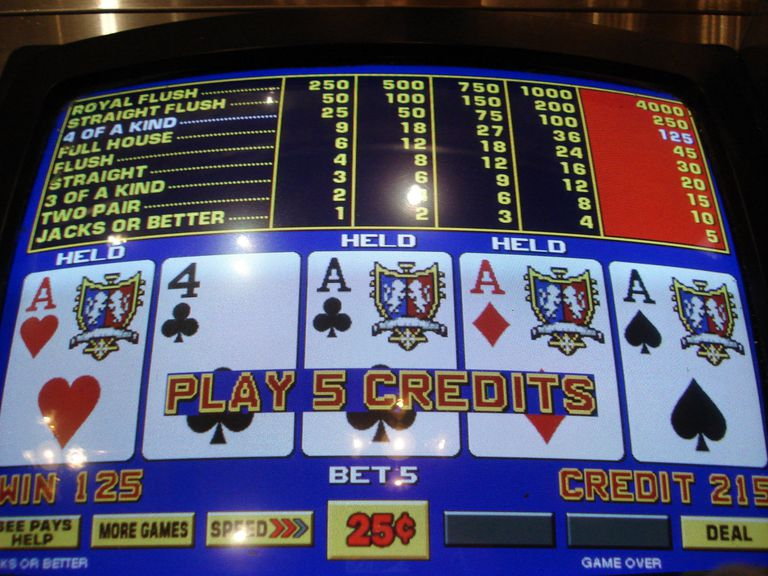 Free Casino Poker Machine Games