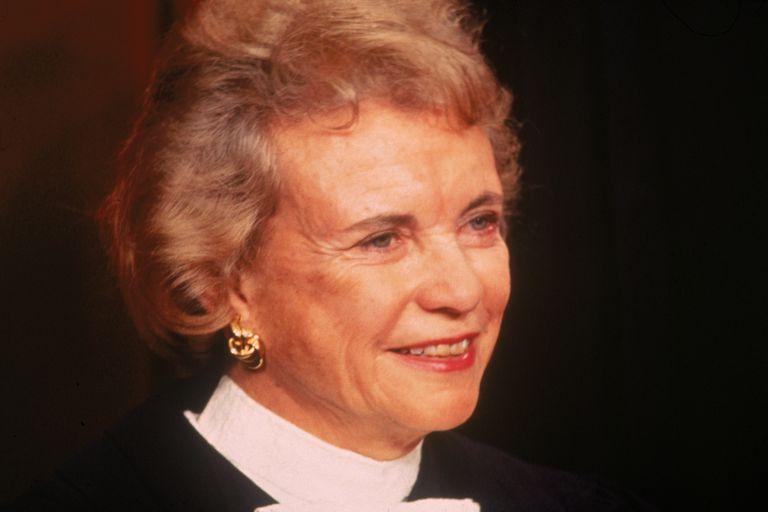 Supreme Court Justice Sandra Day O'Connor, 1993