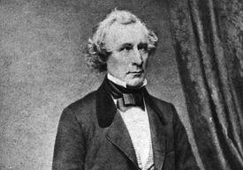 Photographic portrait of James Gordon Bennett