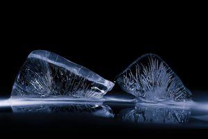Close up Photograph of Ice Sculpture