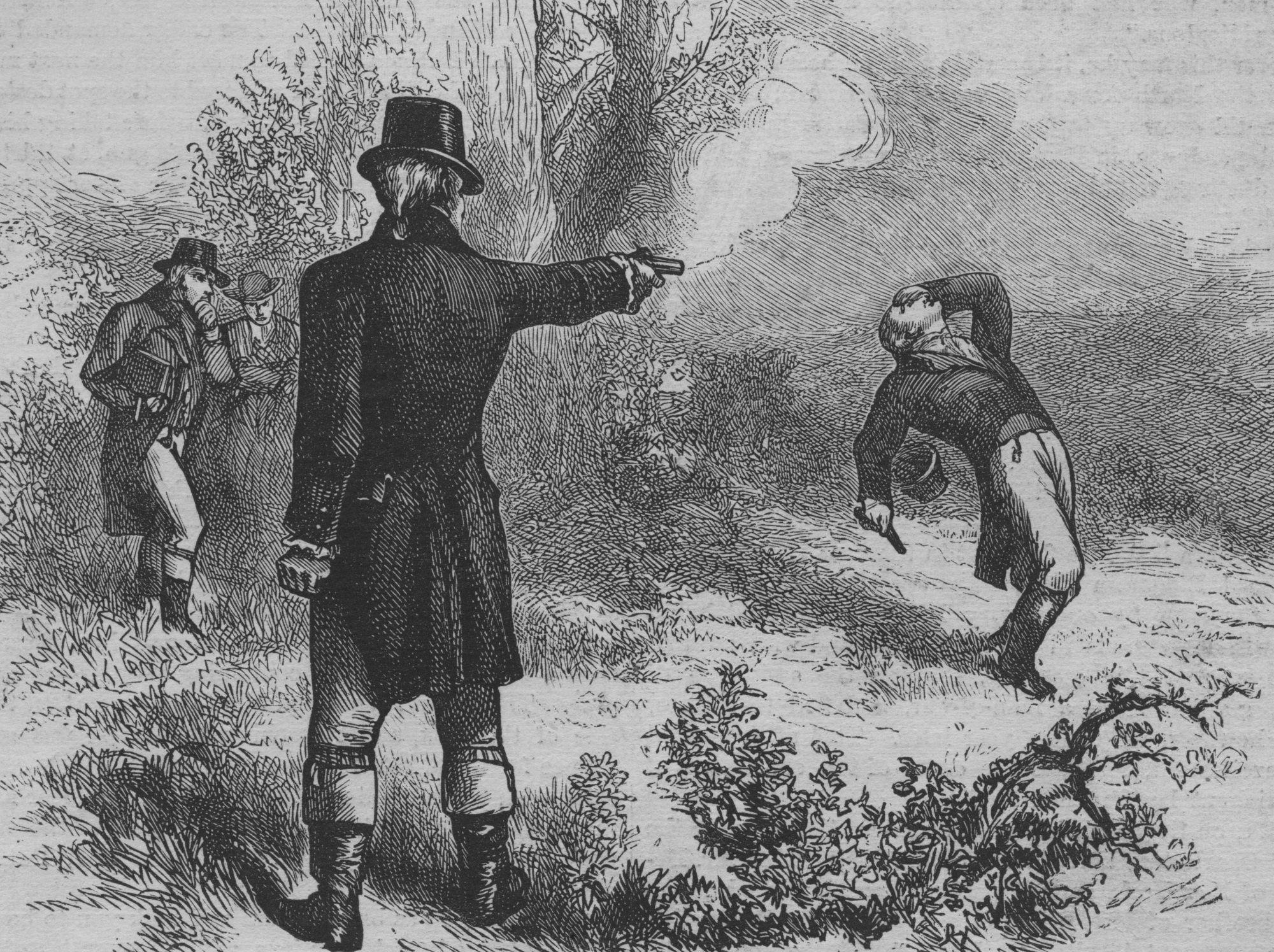 Illustration des Burr-Hamilton-Duells