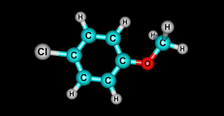 4-chloroanisole molecular structure