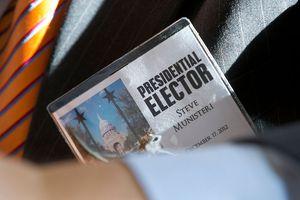 Presidential Elector's ID Tag