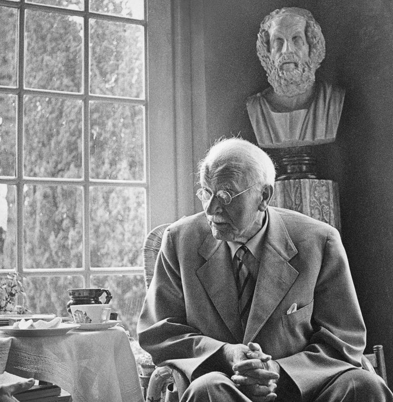 Photo of psychiatrist Carl Gustav Jung