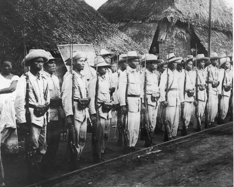 Rebel soldiers who fought in the Philippine-American War