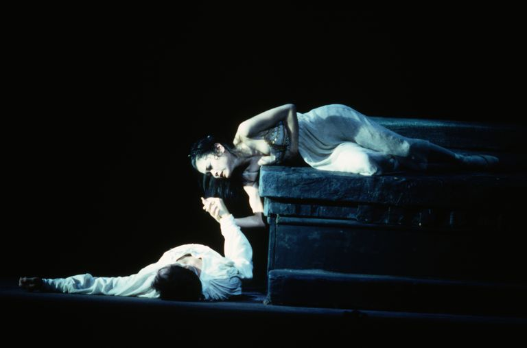 Ballet Dancers in Romeo and Juliet