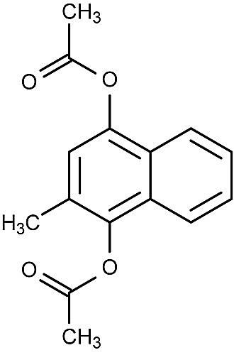 This is the chemical structure of kappaxan.