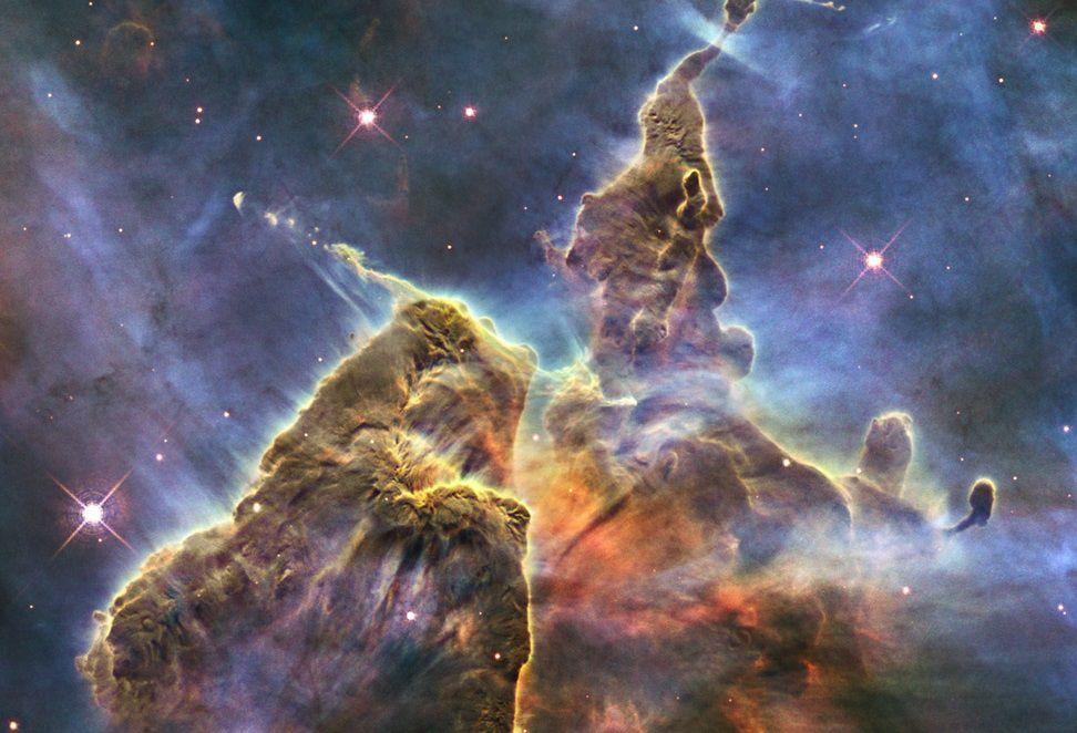 Mystic Mountain in the Carina nebula.