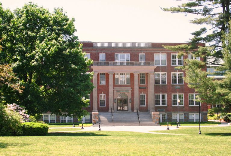 Gardner Hall, formerly the Fowler Administration Building, the administration building on the campus of Eastern Nazarene College