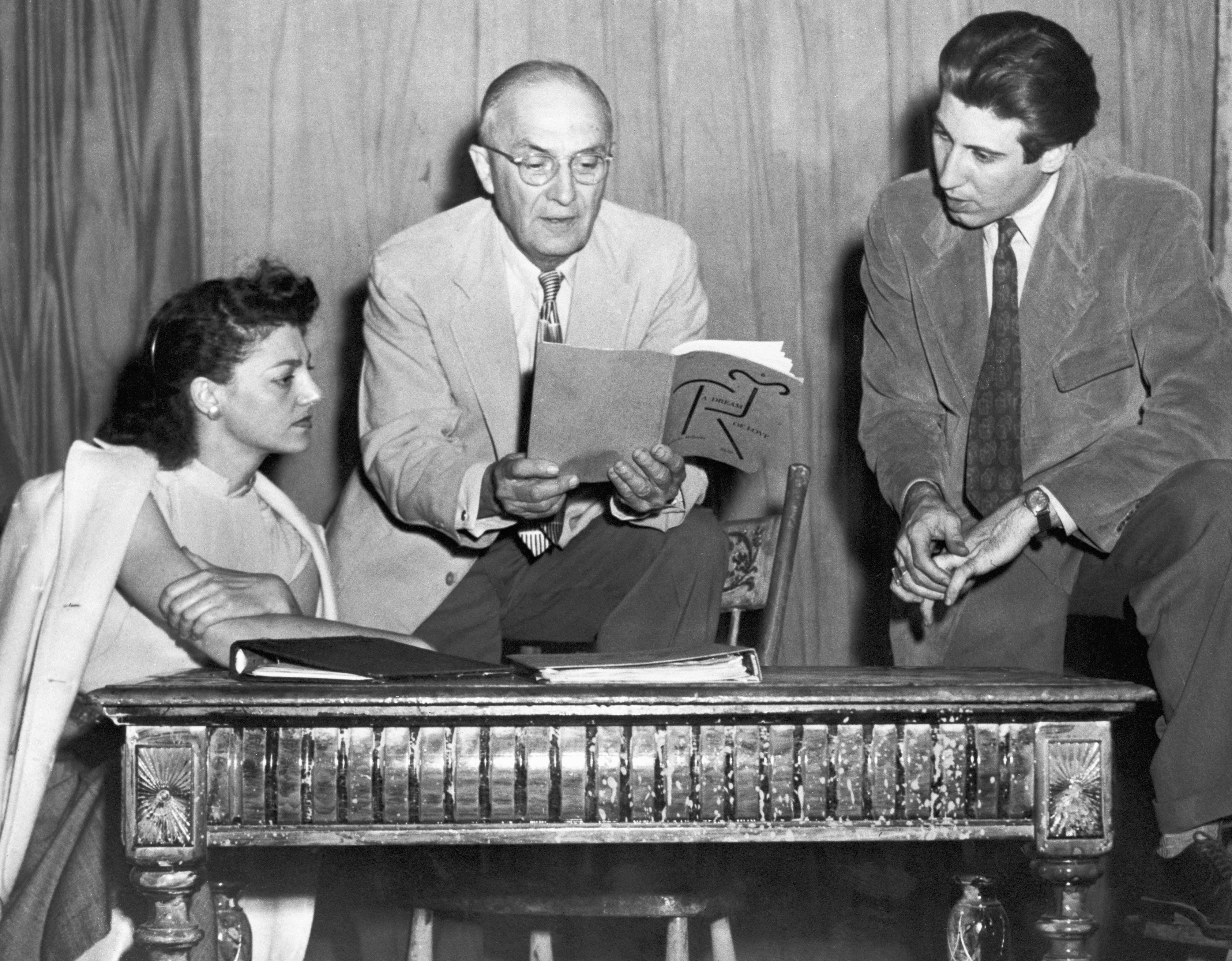 William Carlos Williams Reading Play to Two Actors