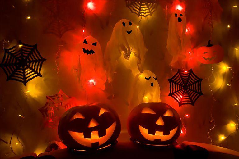 Illuminated Halloween Decoration
