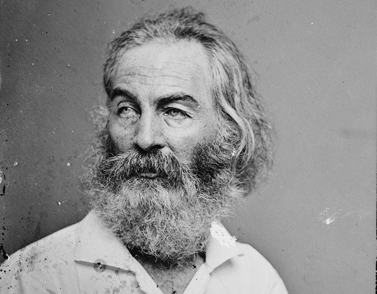 Walt Whitman between 1860 and 1865