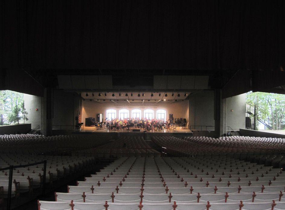 Interlochen Kresge Auditorium