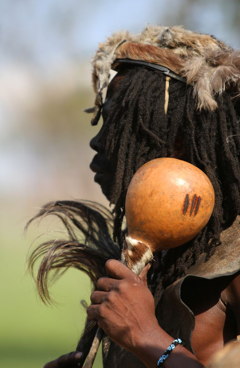 Zulu witch doctor