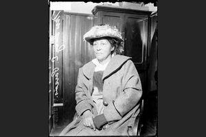 Lucy Parsons, 1915 arrest