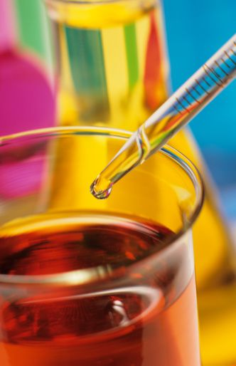 Pipets are used to measure and transfer small volumes.