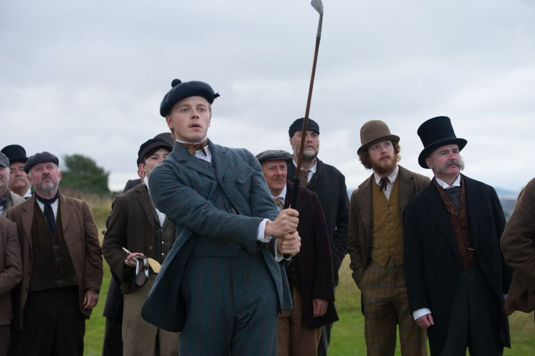 Actor Jack Lowden as Young Tom Morris in Tommy's Honour