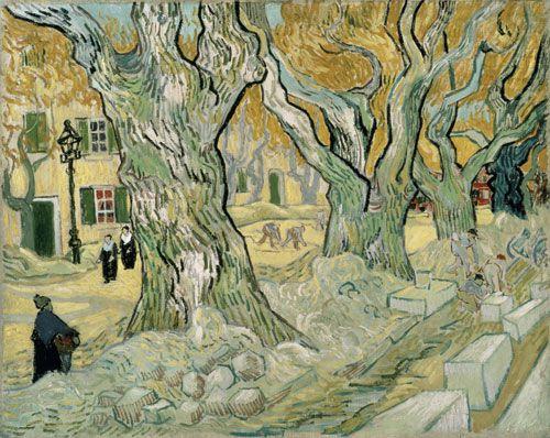 Vincent van Gogh, The road menders, 1889.