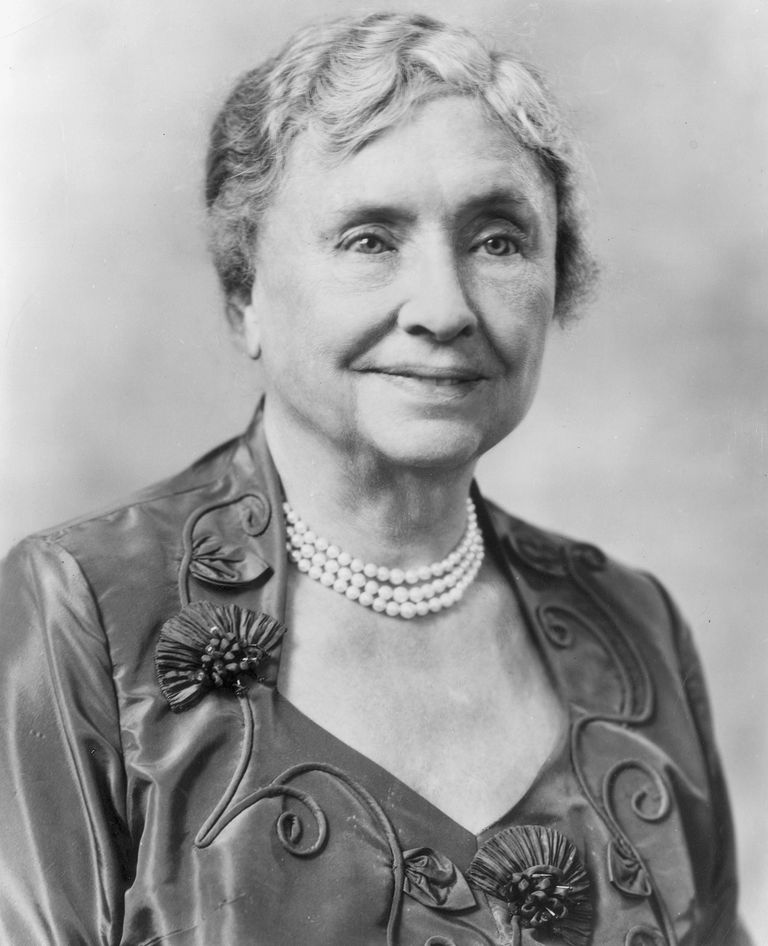 Helen keller quotes that inspire headshot portrait of american educator and activist for the disabled helen keller 1880 1968 altavistaventures Image collections