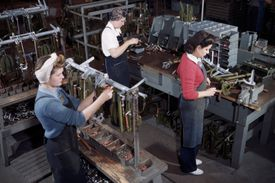 Home Front Women Workers/Assembly Line