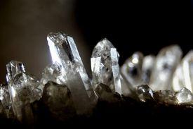 Close-Up Of Crystal Rock