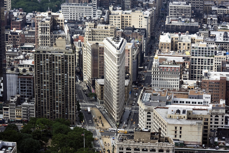 Flatiron's Neighborhood in New York City