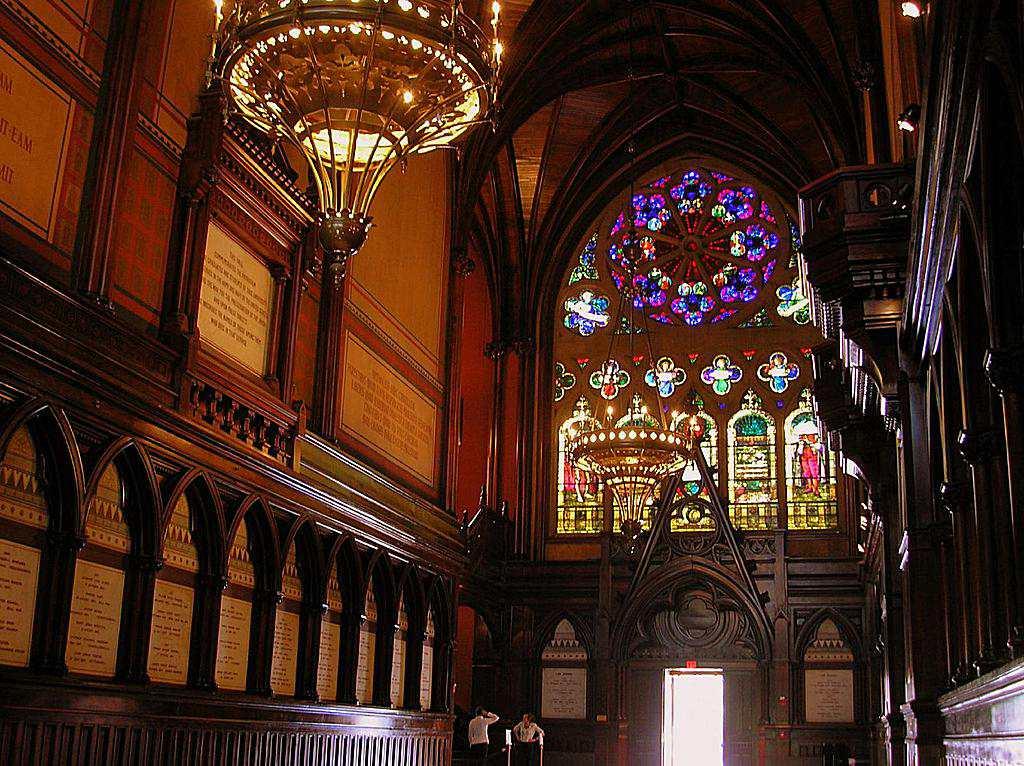 Harvard University - Interior of Memorial Hall